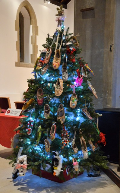 The most popular tree was created by Farnham Dance